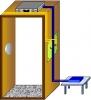 Нелинейный локатор для скрытой установки Циклон-рамка